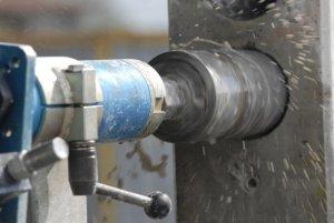 инструмент - алмазная сверление, бетона - стена 04