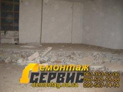 Демонтаж стяжки, фото стяжки на керамзитовой подсыпке 3