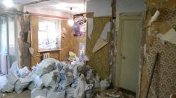 Демонтаж стен - кирпич в Одессе 2