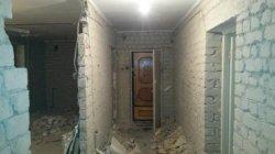 Демонтаж штукатурки цена от 30 грн/м2 Одесса - удаление,  стена кирпич силикат 01