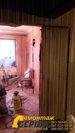 Проёмы в стене, 16 см,  расширение между коридором и спальней 1