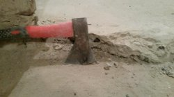 Демонтаж стяжки, фото цементной стяжки 4