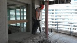 Снос стен и перегородок бетон - ударный метод - Одесса 01
